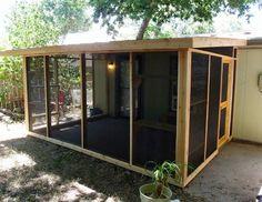 The Cat Carpenter Screen Porches Screened In Porch Diy, Screened Porch Designs, Diy Screen Porch, Outside Patio, Back Patio, Diy Patio, Backyard Patio, Enclosed Gazebo, Enclosed Porches