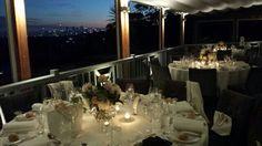 Spectacular al fresco setting for tonight's wedding at Gunner's Barracks overlooking Sydney Harbour.