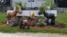 Clay Pot Horses The Cutest Collection To Make | The WHOot