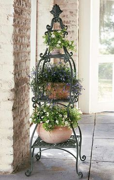 plant stand from Frontgate