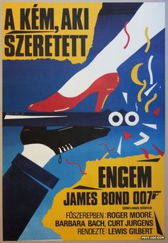 POST-SOC - The Spy Who Loved Me - 1 Sheet Hungarian Movie Poster