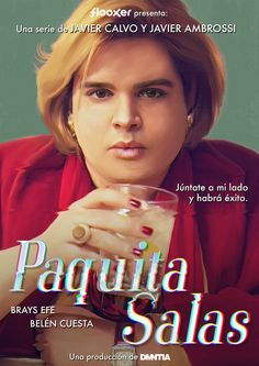 Paquita Salas. Una serie de Javier Calvo y Javier Ambrossi para FLOOXER. Producida por DMNTIA. I Series, Poster Series, Comic Sans, Netflix, Foreign Movies, 3 Movie, Documentaries, Musicals, Tv Shows