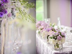 #lilac #lavender #wedding theme so pretty