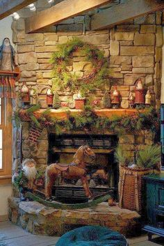 Shabby in love: A Country Christmas (Decor Ideas)
