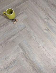 Herringbone Laminate Flooring, Herringbone Wood Floor, Solid Wood Flooring, Engineered Wood Floors, Vinyl Plank Flooring, Parquet Flooring, Grey Flooring, Kitchen Flooring, Flooring Ideas