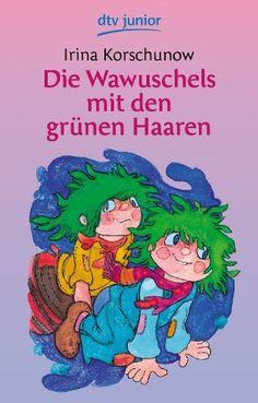 Die Wawuschels mit den grünen Haaren von Irina Korschunow http://www.amazon.de/dp/3423071648/ref=cm_sw_r_pi_dp_mNJ.ub1KD7WXE
