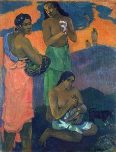 Maternity (Women on the Seashore), 1899  Paul Gauguin (French, 1848-1903)