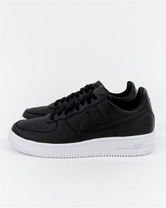 Nike Air Force 1 Ultra Force Leather - Black - 845052-003 - Footish: If you´re into sneakers