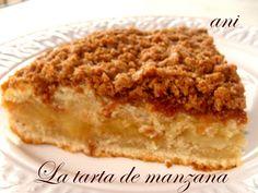 La Cocina de Ani: La tarta de manzana