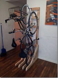 Guardando bike em apartamento : Valdecorarte