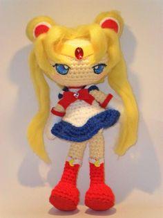 Sailor Moon Amigurumi Patron Gratis : 1000+ images about Amigurumi Sailor Moon on Pinterest ...