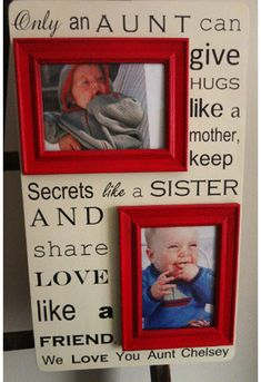Only in Aunt! Love this!! Maybe a cool gift for Kiley and Laura!