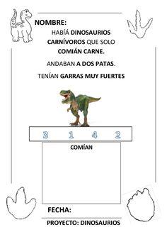 Proyecto completo dinosaurios. programación, fichas, recursos,pdf Dinosaur Theme Preschool, Classroom, Science, Google, Animals, Dinosaurs, Santa Cruz, Activities, Ideas