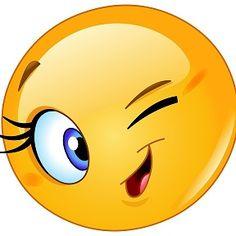Illustration about Design of a female emoticon winking. Illustration of eyelashes, character, emoji - 41014844 Animated Smiley Faces, Funny Emoji Faces, Funny Emoticons, Smileys, Emoticon Love, Emoticon Faces, Emoji Love, Kiss Emoji, Smiley Emoji