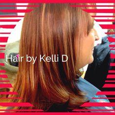 #balyage #auburn #honey #hairbykellid #portlandhairstylist