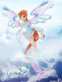 ...  to start it off we have the leader of the Winx, Miss Bloom and she's loving her new powers and outfit. Description from deviantart.com. I searched for this on bing.com/images