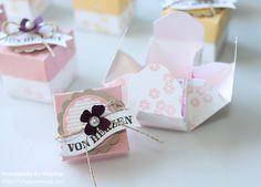 Stampin Up Box Envelope Punch Board Verpackung Goodie Give Away inkl. Verpackung