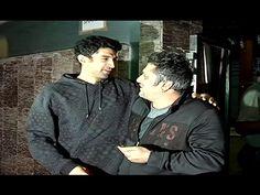 Aditya Roy Kapoor celebrates Valentine's Day 2017 with Mohit Suri.