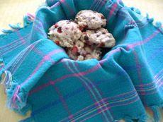 Biscuits aux framboises et aux pépites de chocolat