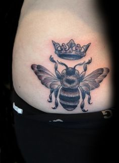 Queen Bee Tattoo Ideas