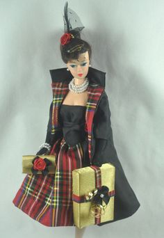 Handmade Vintage Barbie/Silkstone Fashion by P.Linden  9 pc Party Exclusive  #FITSVINTAGEREPRODUCTIONSANDSILKSTONEBARBIE