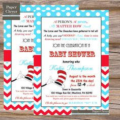 Cat In The Hat Birthday Invitations for good invitations template