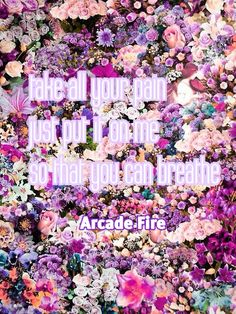 Arcade Fire lyrics