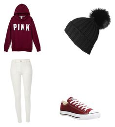 """""""Untitled #12"""" by chatham-s-m ❤ liked on Polyvore featuring Converse and River Island"""