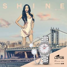 Descubre la colección de relojes Lotus Watches Shine http://www.todo-relojes.com/marca.asp?marca=15 y las joyas Lotus Style http://www.todo-relojes.com/complementos.asp?tipo=33 de la mano de su embajadora de lujo, la actriz Megan Fox. La estadounidense protagoniza una campaña en la que aparece andando por la ciudad de Nueva York #LotusShine #LotusStyle #MeganFox #NuevaYork #todorelojes