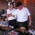 BBQ Event in rustikaler Scheune