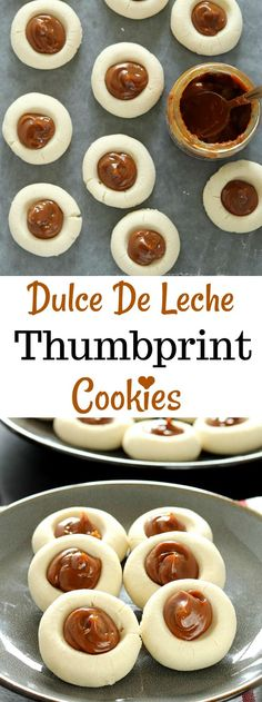 Whether be a potluck or picnic, Dulce De Leche Thumbprint Cookies makes quite a statement. These eye-catchingtreats are decadently delicious and almosttoobeautiful to eat!!