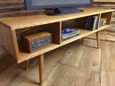 Mid century modern TV stand/entertainment console by scottcassin