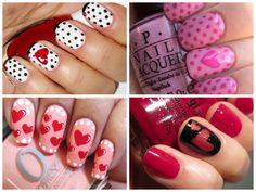 https://www.facebook.com/leovandesign #nailpolish #manicure #pedicure #polish #nail #design #valentine #heart