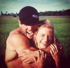 CT and Diem on The Challenge: Battle of the Exes. They are the cutest...really wanted them to win.