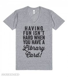 Having Fun Isn't Hard | Having fun isn't hard when you have a library card! #Skreened