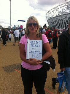 Homemade sign, in my Olympic souvenir programme, despite not want to 'deface' it, it was worth it! Believe In Miracles, The Man, Olympics, Athlete, Sign, Homemade, T Shirts For Women, Fashion, Souvenir