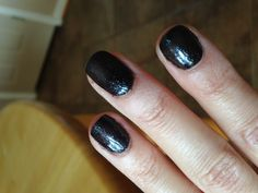 Black Stretch Limo with Glitterazzi!!! Red Carpet Manicure