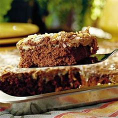 German Chocolate Sheet Cake | MyRecipes.com
