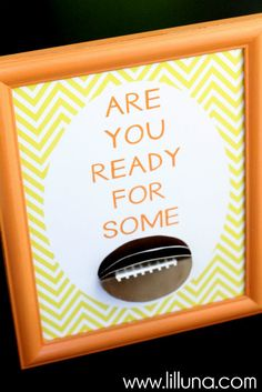 Are You Ready for Some Football Printable