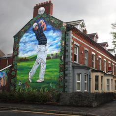 Rory McIlroy mural in Belfast - Imgur