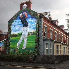 Rory McIlroy mural in Belfast - Imgur