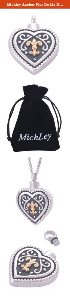 Michley Anchor Flor De Lis Memorial Cremation Necklace Ashes Urn Heart Locket Pendant Jewelry. About us: We pay great attentions to your shopping experiences from us,Your satisfaction and positive feedback are the motivation for us to move forward.It would be highly appreciated for your positive feedback to our product and our store. Questions or Concerns? Michley mainly do quality products,We are here and ready to answer your questions promptly. If you have any issues, we will do our…