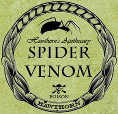 Free potion label printables - Halloween
