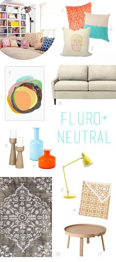coco kelley get the look fluro neutral living room