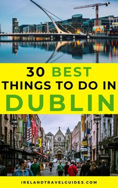 30 BEST THINGS TO DO IN DUBLIN, IRELAND | PLACES TO SEE IN DUBLIN IRELAND | ATTRACTIONS IN DUBLIN | THINGS TO SEE IN DUBLIN | DUBLIN TRAVEL TIPS | DUBLIN TRAVEL IDEAS | DUBLIN TRAVEL DESTINATIONS | IRELAND TRAVEL TIPS | IRELAND TRAVEL IDEAS | IRELAND TRAVEL DESTINATIONS #ireland #dublin #europe #travel Backpacking Ireland, Ireland Travel Guide, Dublin Travel, Europe Travel Tips, European Travel, Travel Guides, Places To Travel, Places To See, Travel Destinations