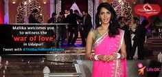 Mallika's War of Love is on in Udaipur!