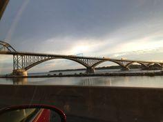 Peace Bridge in Buffalo, NY