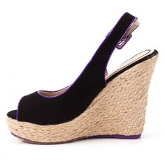 Black and Tan Wedges $9.99!