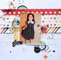 glow - Crazy Monday Kits & SKetchabilities - Scrapbook.com