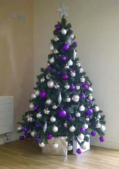 heres a collection of purple christmas trees ideas that you can get inspiration from as you decorate this yuletide season purple is a royal color
